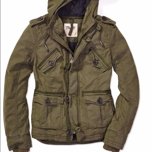 TNA Jackets & Blazers - TNA - Green Platoon Jacket size small